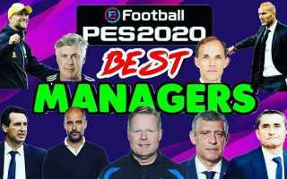 PES 2020 «101 Coach for ML in SmokePatch 20 v20.1.2»