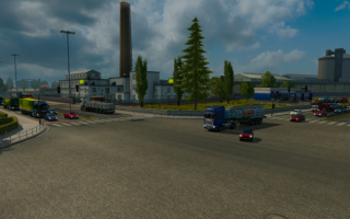 Euro Truck Simulator 2 «Traffic моd by piva with TSM»